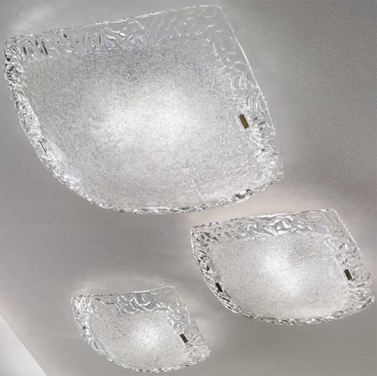 Picture of LINEA LIGHT SYBERIA CEILING LAMP CRYSTAL 38CM
