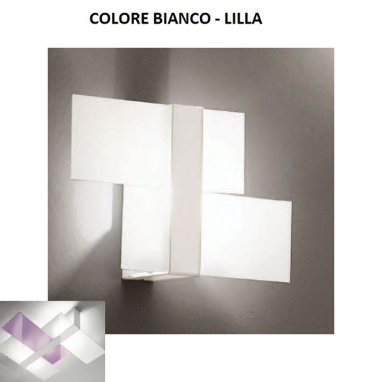 Picture of LINEA LIGHT TRIAD MODERN WALL LAMP 35X22 LILAC