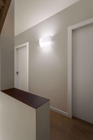 Picture of LINEA LIGHT MATRIOSKA WALL LAMP 60CM WHITE