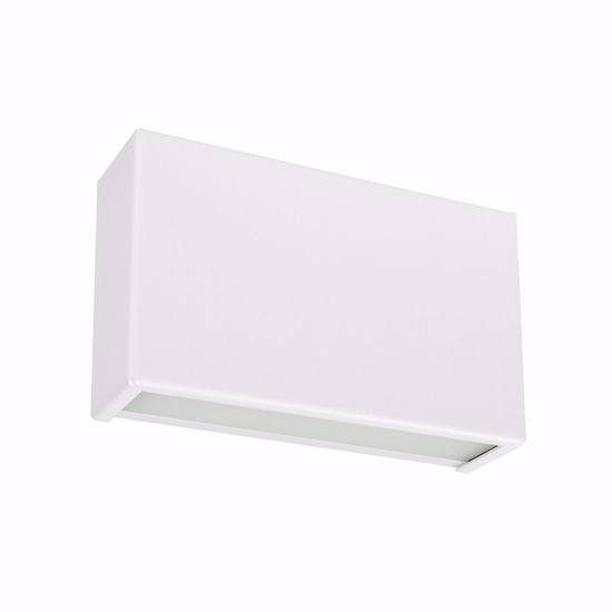 Picture of  WALL LAMP LED DOUBLE LIGHT EMISSION LINEA LIGHT BOX WHITE