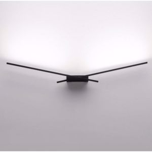Picture of LINEA LIGHT MA&DE WINGS WALL LAMP BLACK LED 42CM 10W