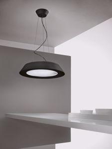 Picture of LAMPADARIO MODERNO 21W NERO LED LINEALIGHT CONUS PER SOGGIORNO
