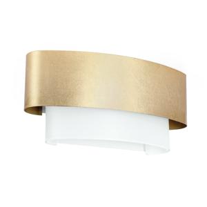 Picture of LINEA LIGHT MATRIOSKA WALL LAMP 40CM GOLD LEAF