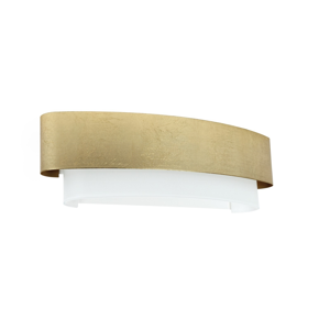 Picture of LINEA LIGHT MATRIOSKA WALL LAMP 60CM GOLD LEAF