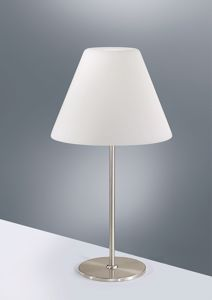 Picture of ANTEA LUCE MELODY LIGHT TABLE LAMP WHITE GLASS 3 LIGHTS H64CM