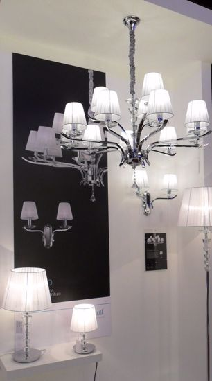 Picture of TABLE LAMP WITH SHADE TL1 SMALL FOR CONTEMPORARY BEDROOM