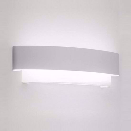 Picture of LINEA LIGHT MATRIOSKA WALL LAMP 40CM WHITE