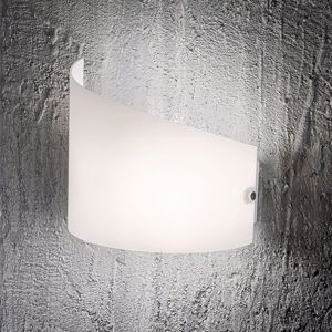 Picture of FABAS LUCE WHITE GLASS WALL LAMP MOA
