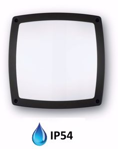Picture of IDEAL LUX COMETA PL3 OUTDOOR CEILING LAMP BLACK