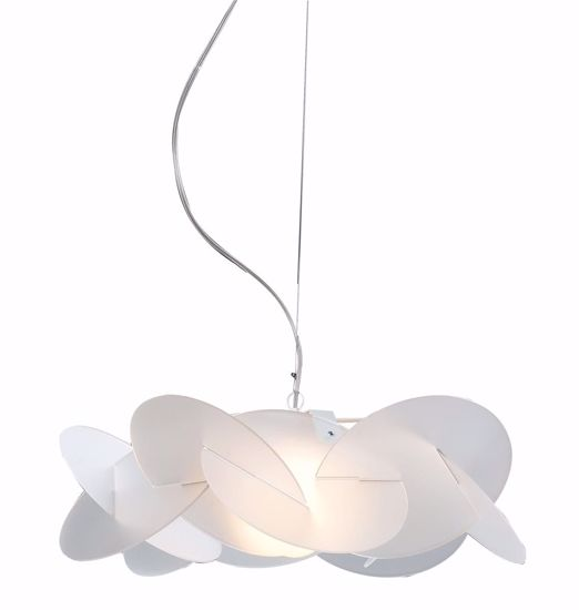 Picture of EMPORIUM SUSPENSION MAXI BEA Ø90 3 LIGHT WHITE