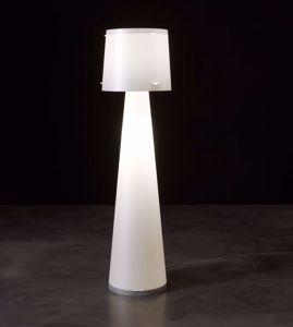 Picture of EMPORIUM FLOOR LAMP DIVA WHITE POLYPROPYLENE