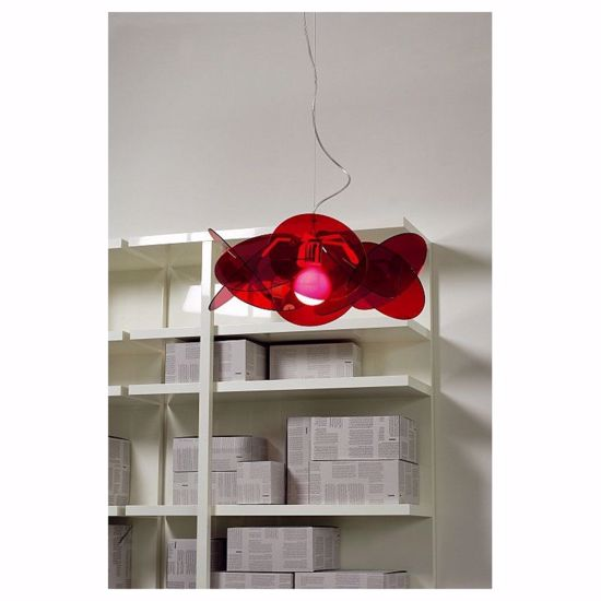 Picture of EMPORIUM SUSPENSION SMALL BEA Ø54 RED