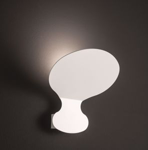 Picture of APPLIQUE LED METALLO BIANCO DESIGN MODERNA LUCE INDIRETTA