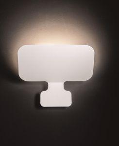 Picture of APPLIQUE GX53 LED DESIGN MODERNA METALLO BIANCO IN PROMOZIONE