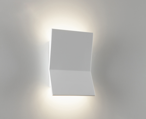 Picture of APPLIQUE LED 18W 3000K DESIGN MODERNA IN GESSO BIANCO VERNICIABILE