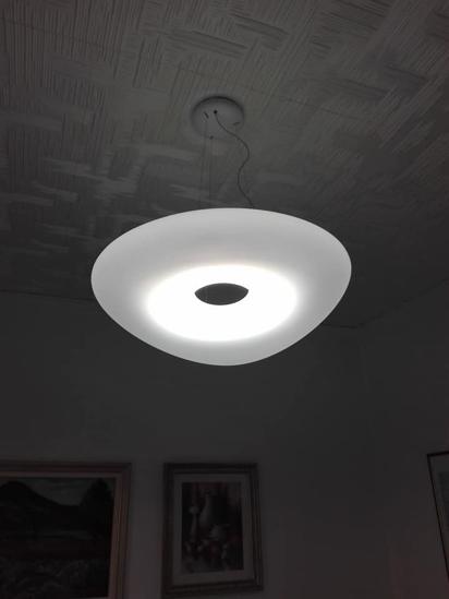 Picture of MA&DE MR. MAGOO LED SUSPENSION LIGHT Ø75.5 CM WHITE PMMA DESIGN