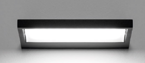 Picture of MA&DE TABLET LED WALL LIGHT 38W 66CM BLACK MODERN DESIGN