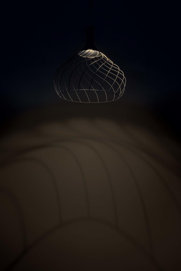 Picture of MA&DE MONGOLFIER LED SUSPENSION LIGHT 40CM COPPER OPENWORK ORIGINAL DESIGN
