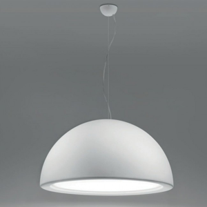 Picture of MA&DE ENTOURAGE P1 MODERN PENDANT LIGHT DOME-SHAPED Ø75 ARRAY LED 28W WHITE GYPSUM FINISHING