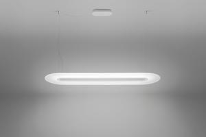 Picture of MA&DE OPTI-LINE MINIMAL PENDANT LIGHT DIMMABLE LED LIGHT WHITE FINISH