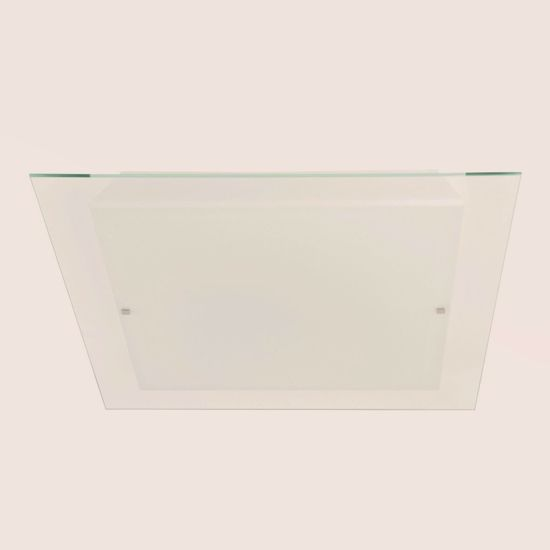 Picture of LINEA LIGHT LUMINOSA GLASS CEILING LAMP 63X63