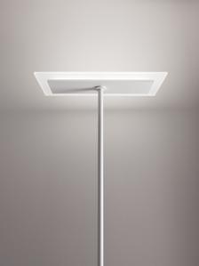 Picture of LINEA LIGHT DUBLIGHT LED FLOOR LAMP SATIN WHITE 29W 182CM
