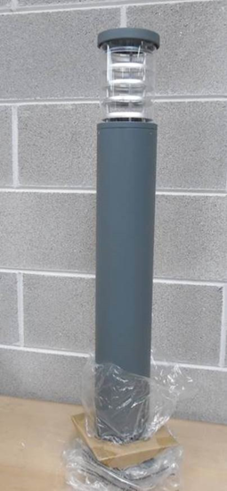 Picture of IDEAL LUX TRONCO WALL LAMP FOR GARDEN PT1 BIG ANTHRACITE