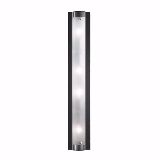 Picture of IDEAL LUX TUDOR AP4 RECTANGULAR WALL LAMP IN GLASS