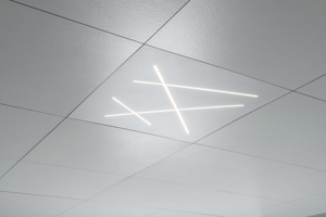 Picture of MA&DE NEXT RECESSED CEILING LED LIGHT 58W MINIMAL DESIGN WHITE FINISH