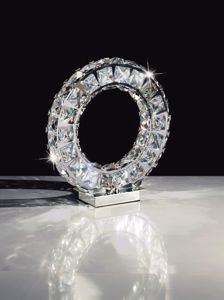 Picture of EGLO TONERIA TABLE LAMP LED 12W 4000K IN CRYSTAL
