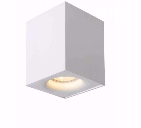 Picture of WHITE ALUMINIUM CUBE CEILING LIGHT