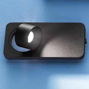 Picture of LINEA LIGHT BEEBO WALL SPOTLIGHT LED 5W BLACK
