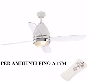 Picture of FARO FARETTO CEILING FAN WITH BLADES AND LIGHT