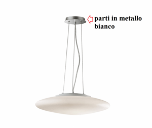 Picture of IDEAL LUX SMARTIES WHITE PENDANT LAMP SP3 D40