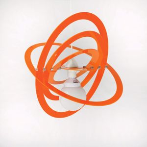 Picture of MODERN PENDANT LIGHT FOR CHILDREN'S ROOM GLOSSY ORANGE