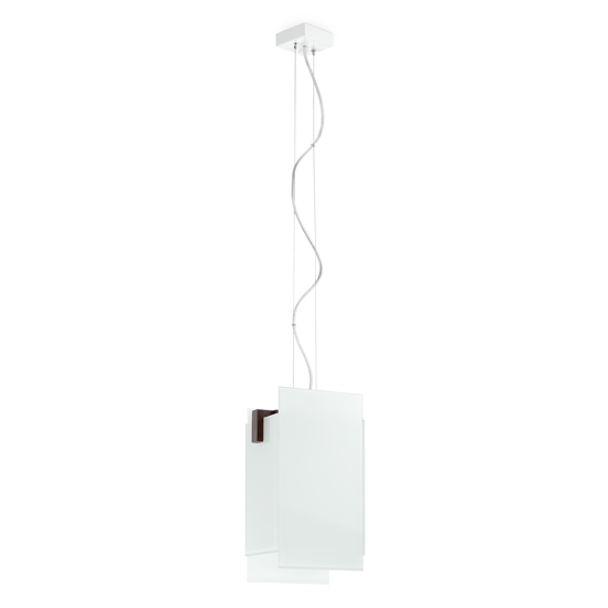 Picture of LINEA LIGHT TRIAD MODERN PENDANT LAMP 1LIGHT WALNUT