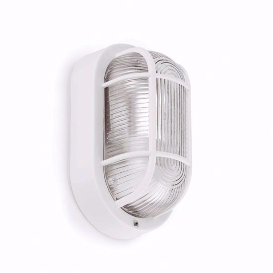 Picture of FARO OVALO WHITE OUTDOOR WALL LAMP