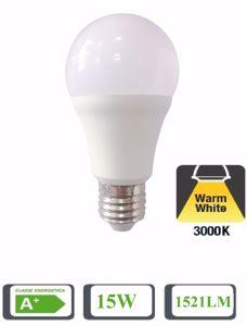 Picture of LIFE ELECTRONICS LED GLOBE BULB E27 15W 3000K 1380 LUMEN