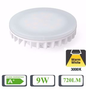 Picture of LIFE FLAT BULB GX53 9W 3000K WARM WHITE LIGHT