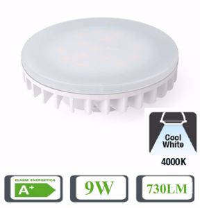 Picture of LIFE FLAT BULB GX53 9W 4000K NATURAL LIGHT