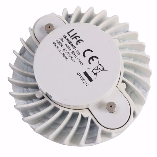 Picture of LIFE FLAT BULB GX53 9W 6500K COLD WHITE LIGHT