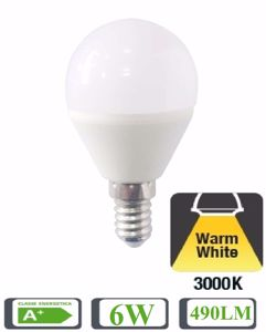 Picture of LIFE ELECTRONICS DROP LED BULB LIGHT E14 5W 3000K