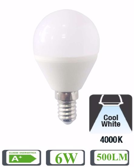 Picture of LIFE ELECTRONICS DROP LED BULB LIGHT E14 5W 4000K