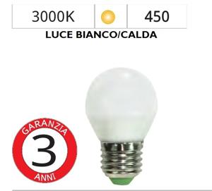 Picture of LIFE ELECTRONICS LAMPADINA LED E27 6W 3000K MINISFERA BIANCA