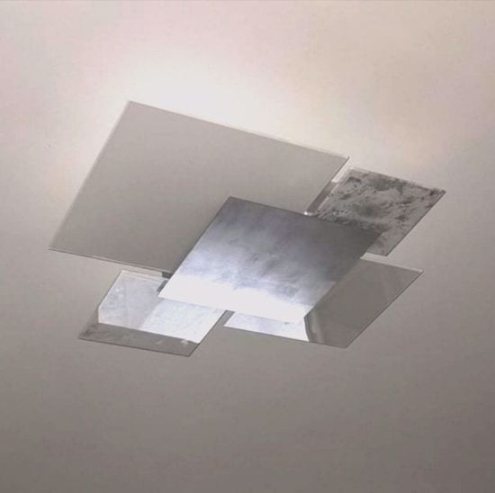 Picture of TOP LIGHT SHADOW CEILING LAMP 71CM SILVER LEAF