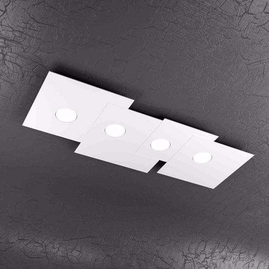 Picture of TOP LIGHT PLATE CEILING LAMP LED 4 LIGHTS