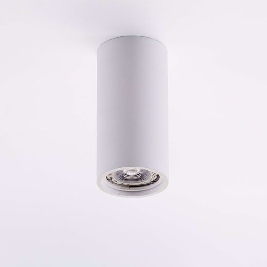 Picture of ISYLUCE CEILING ROUND SPOTLIGHT H14 WHITE GYPSUM PAINTABLE