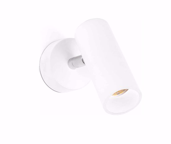 Picture of FARO ORA WALL SPOT LED 4W WHITE ADJUSTABLE