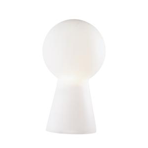 Picture of IDEALLUX BIRILLO TL1 MEDIUM TABLE LAMP IN WHITE GLASS