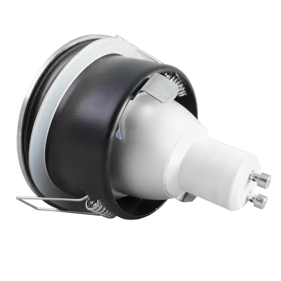 Picture of RECESSED SPOTLIGHT ROUND WHITE GU10 LED FOR BATHROOM IP65